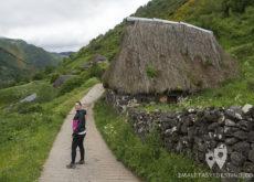 Ruta Braña La Pornacal - Somiedo - Vanina teitos camino