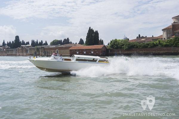 Taxi en Venecia