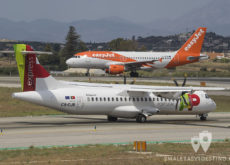 ATR 72 de TAP Portugal Express y A319 de easyJet