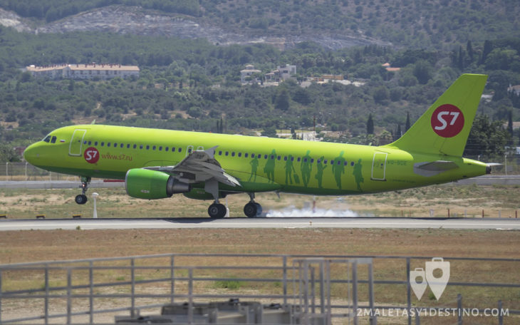 Airbus A320-214 (VQ-BDE) S7 Airlines