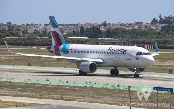 Airbus A320-214(SL) (D-AEWC) Eurowings