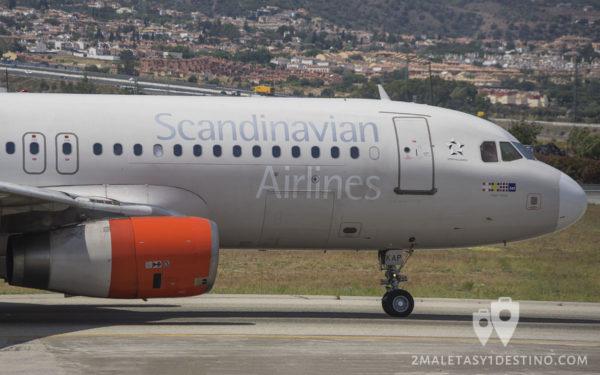 Airbus A320-232 (OY-KAP) SAS Scandinavian Airlines