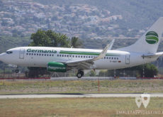 Boeing 737-75B (D-AGET) Germania