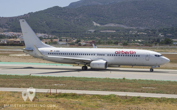 Boeing 737-86J (D-ABBD) Air Berlin