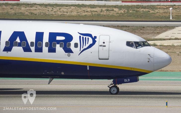 Boeing 737-8AS (EI-DLD) Ryanair