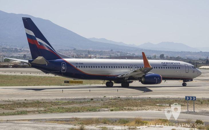 Boeing 737-8LJ (VQ-BWA) Aeroflot Russian Airlines