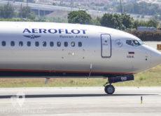 Boeing 737-8LJ (VQ-BWA) Aeroflot Russian Airlines cabina