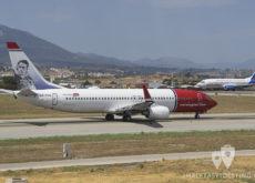 Boeing 737 de Norwegian Air y Jet2