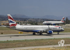 British Airways Embraer 190 y Airbus A319