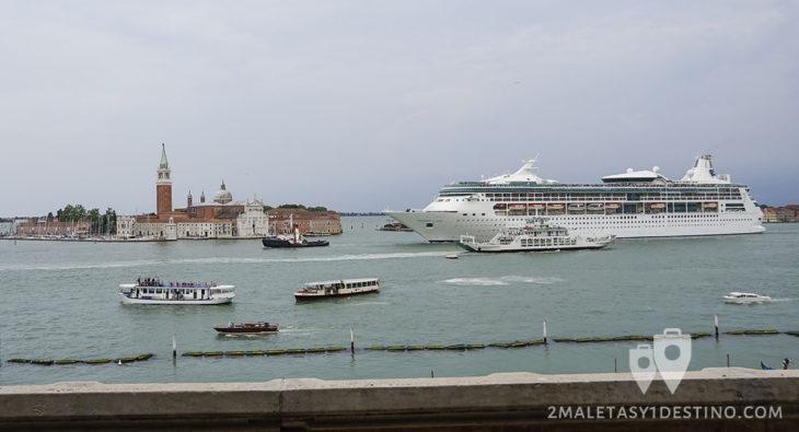 Crucero Rhapsody of the Seas de Royal Caribbean en Venecia