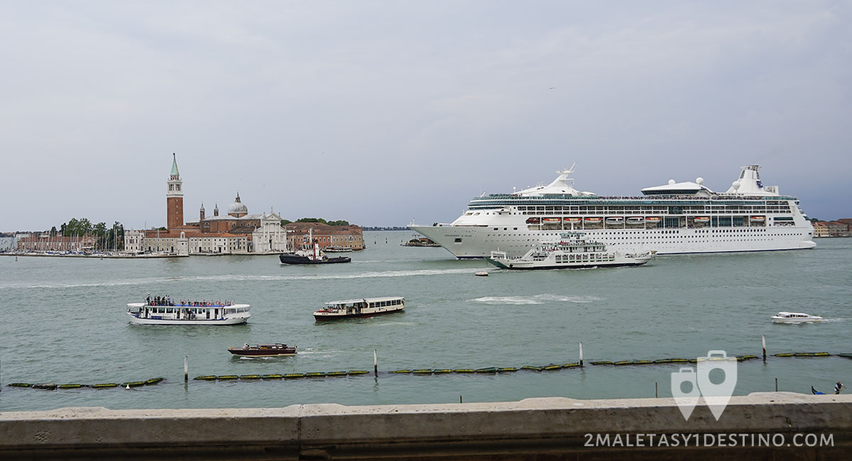 Crucero Rhapsody of the Seas de Royal Caribbean en Venecia
