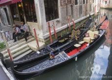 Gondolas de Venecia