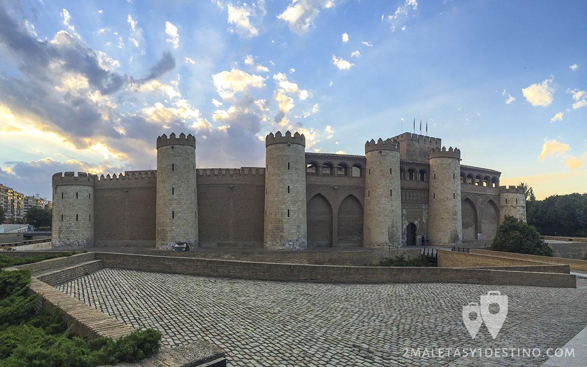 Visita al Palacio de la Aljafería en Zaragoza