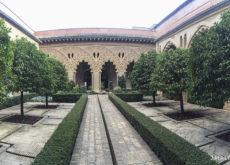 Patio de Santa Isabel en la Aljafería