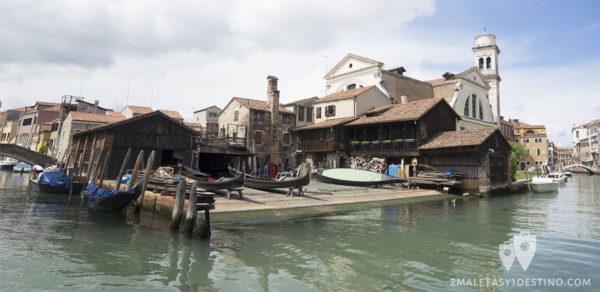 Squero di San Trovaso en Venecia