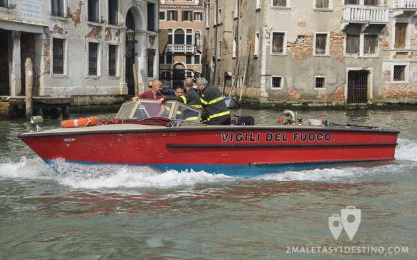 Vigili del Fuoco - Bomberos de Venecia