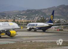 Vueling A320 y Ryanair Boeing 737