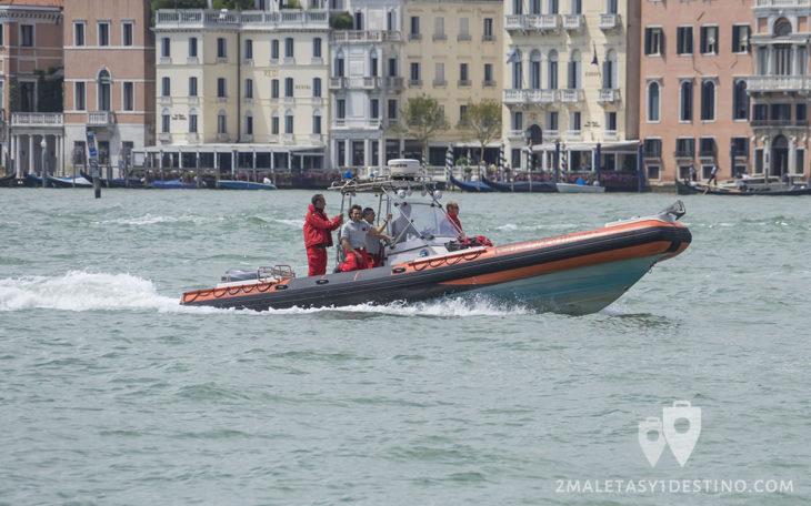 Zodiac bomberos (Vigili del Fuoco) Venecia