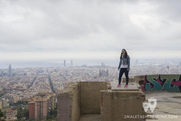 Bunkers del Carmel en Barcelona