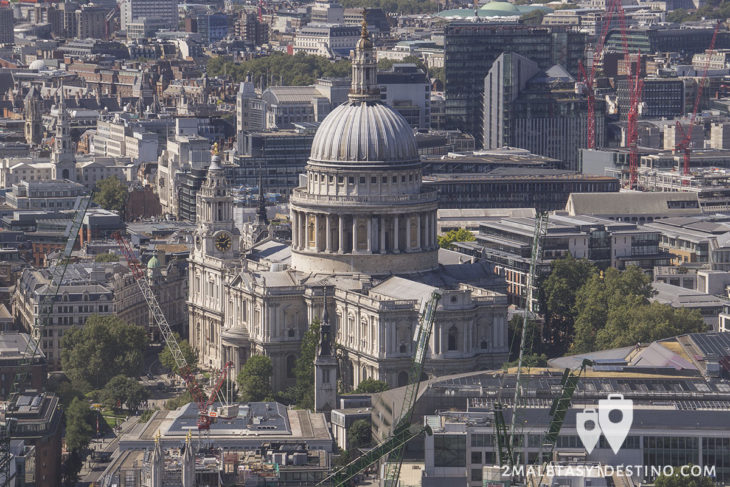 Catedral de Sant Paul desde 20th Fenchurch St