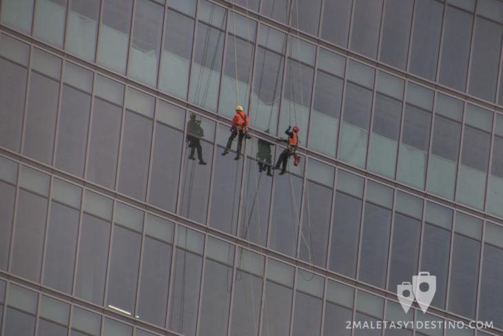 Obreros costrucción 20 Fenchurch Street
