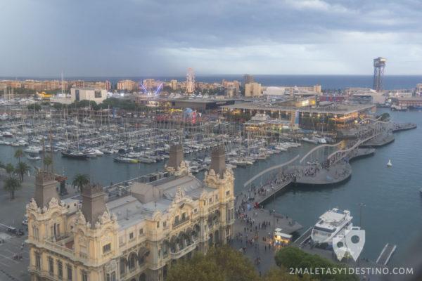 puerto-deportivo-desde-el-monumento-a-colon-barcelona