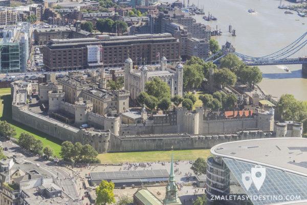 Torre de Londres (vista aérea)