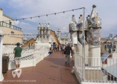 Casa Batlló - Tejado y chimeneas