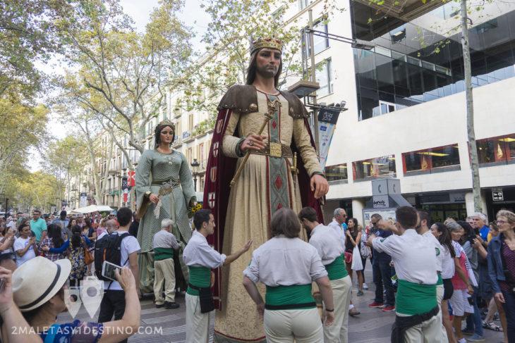 Fiestas de la Mercé - Cabezudos