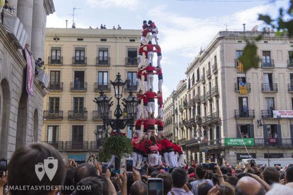 Fiestas de la Mercé - Casteller