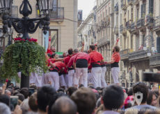 Fiestas de la Mercé - Desarmando el casteller