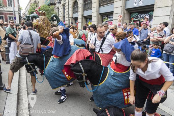 Fiestas de la Mercé - Gigantes y cabezudos