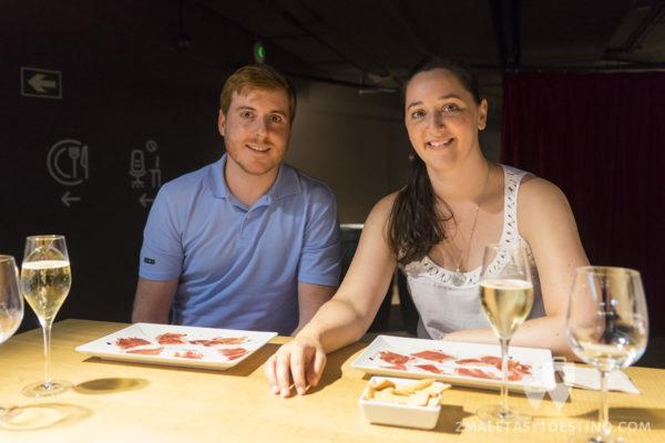 Jamón Experience - Vanina y Eguino en la cata de jamón