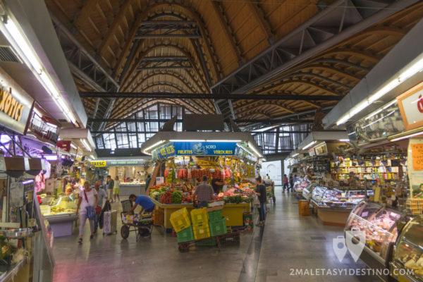 Mercados y Gastronomía Barcelona - Puestos