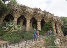 Parque Güell - Entrada principal