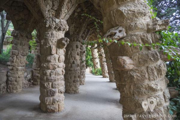 Parque Güell - Sala de columnas
