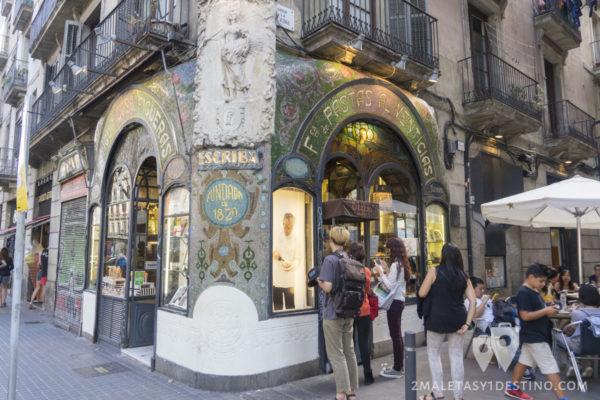 Rambla de Barcelona - Confitería