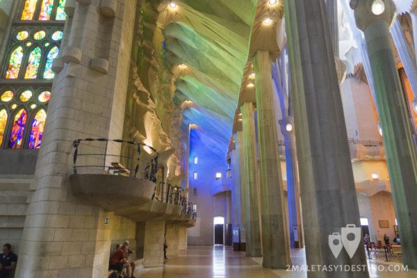 Sagrada Familia - Luces vidrieras