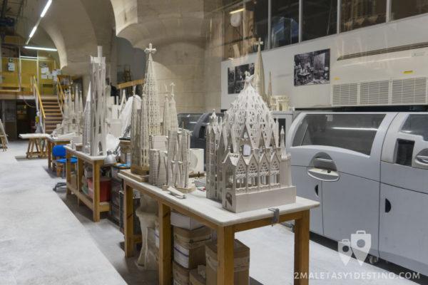 Sagrada Familia - Maquetas 3D