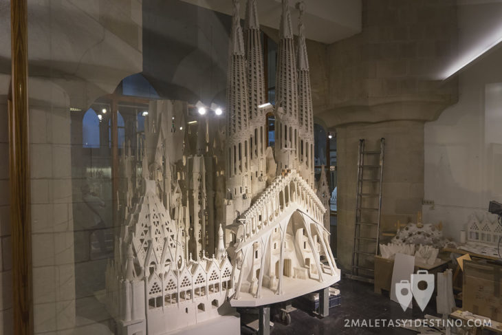 Sagrada Familia - Maquetas