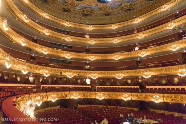 Teatro Liceo - Butacas