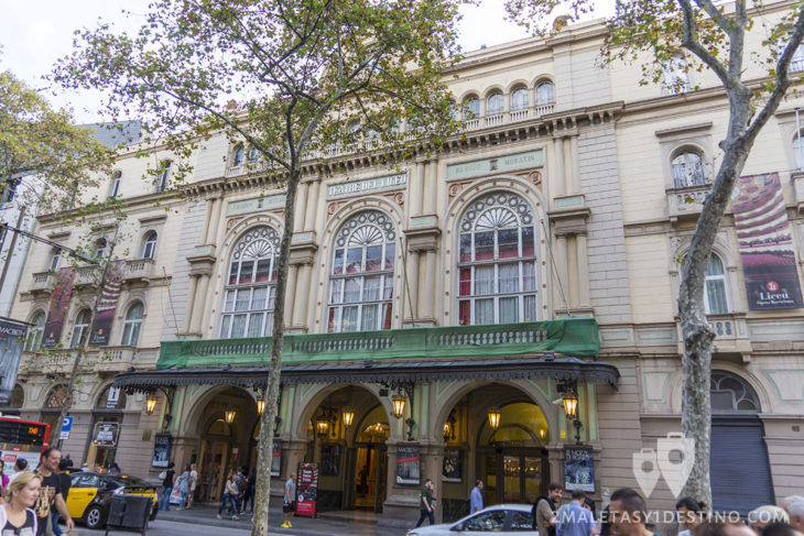 Teatro Liceo - Fachada