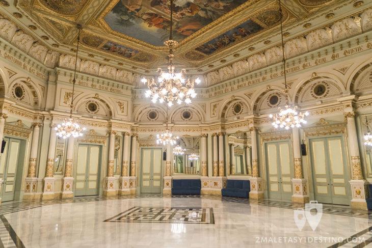 Teatro Liceo - Salón de los Espejos