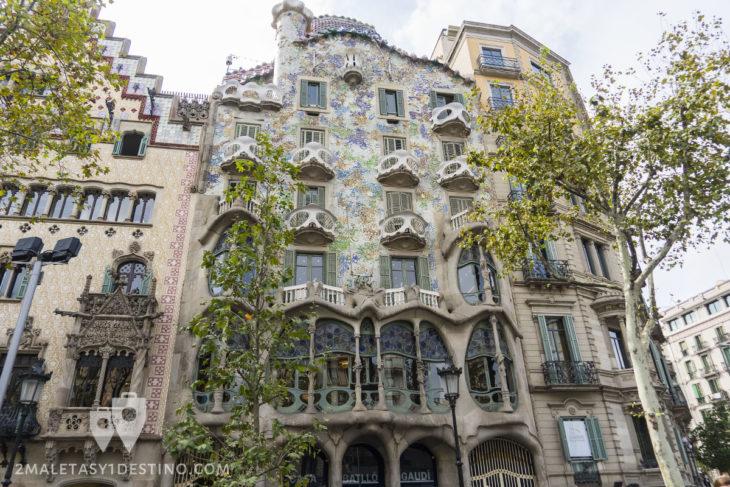 Casa Batlló - Fachada principal