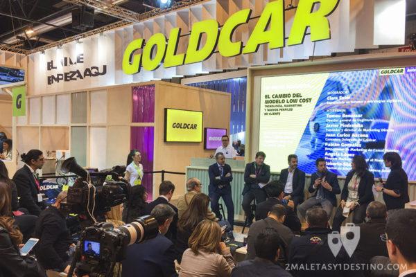Estand Goldcar Fitur 2017