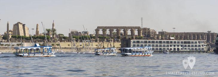 Falucas y crucero en Luxor