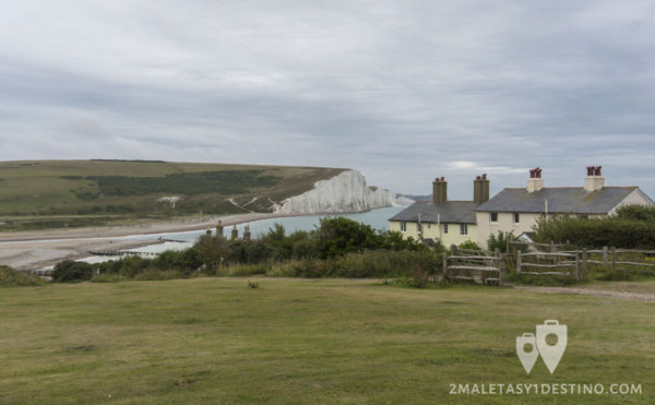 Coastguard Cottages (Casas de los Guardacostas) Seven Sisters