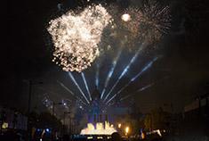 Espectáculo Piromusical de las Fiestas de la Mercè
