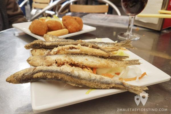Boquerones fritos - Bar La Cantina