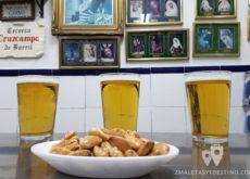 Cervezas y almendras - Bar Casa Eme